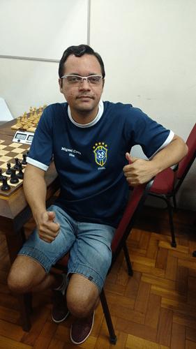 O estreante Cássio de Souza Siqueira ficou em 22º lugar