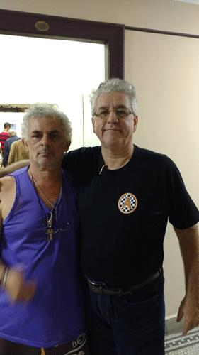 Gilberto Camelo Henrique e Álvaro Frota