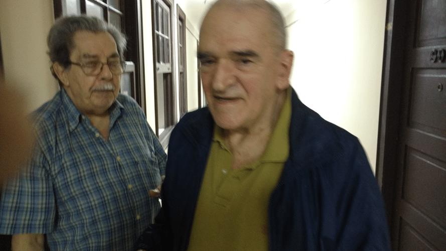 Guilherme Von Calmbach e Carlos Alves Rolim