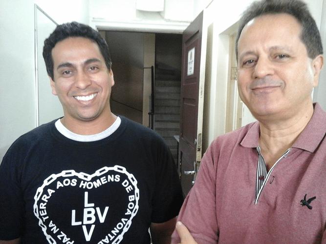 Bruno Alves e Fernando Madeu