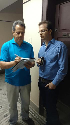 Fernando Madeu e Marcos Piñón