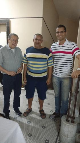 Guilherme, Claide Teixeira Barros e André Kemper Baptista