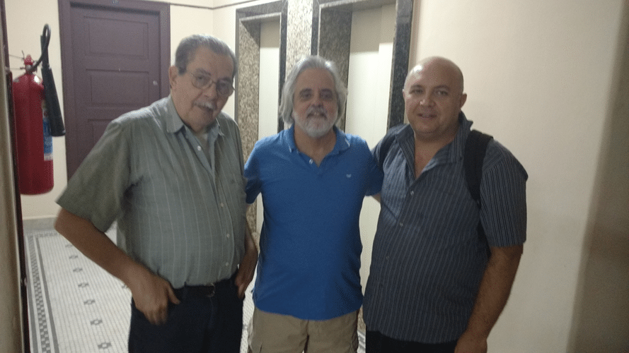 Guilherme Von Calmbach, Luiz Alberto da Luz e Tarcísio Leite