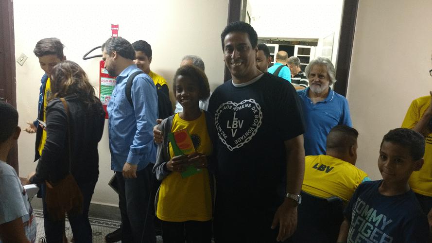 Jéssica de Oliveira Franca e Bruno Alves