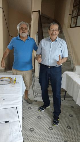 Luiz Alberto da Luz e Guilherme Von Calmbach