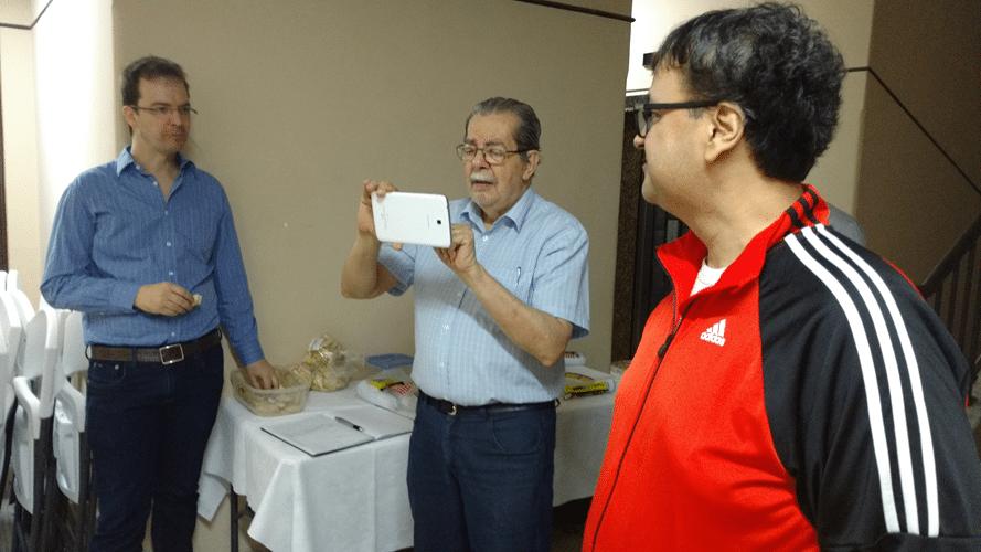 Marcos Piñón, Guilherme Vol Calmbach e Ricardo França