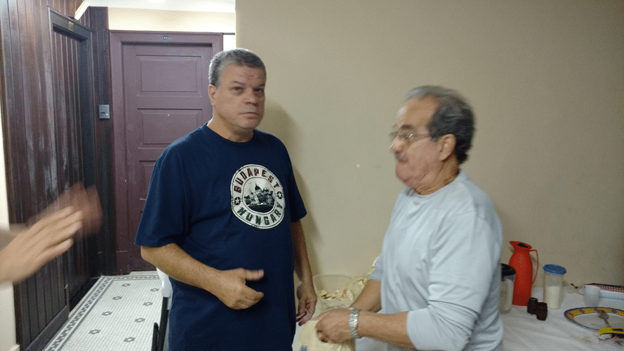 Sérgio Murilo e o Mestre Nacional Décio Koeler Gonçalves da Silva