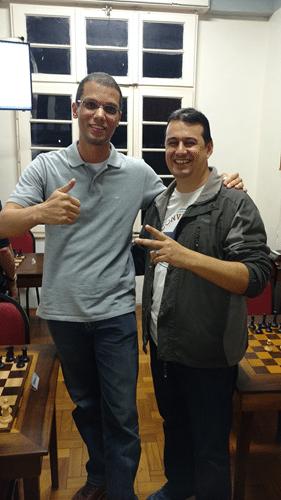 André Kemper e Estevão Luiz Soares