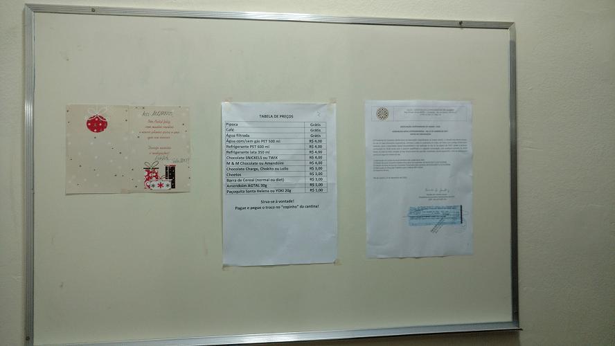 Convocatória da AGE 2017 já foi afixada no quadro de avisos do clube